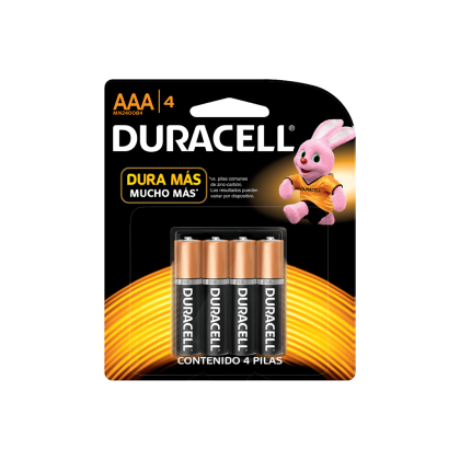 PILAS DURACELL/ENERGIZER AAA